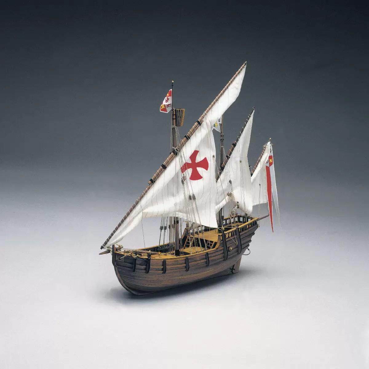 Santa Nina hajómakett építőkészlet Mantua