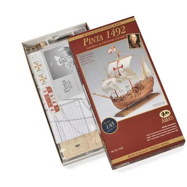Pinta hajómakett építőkészlet Amati