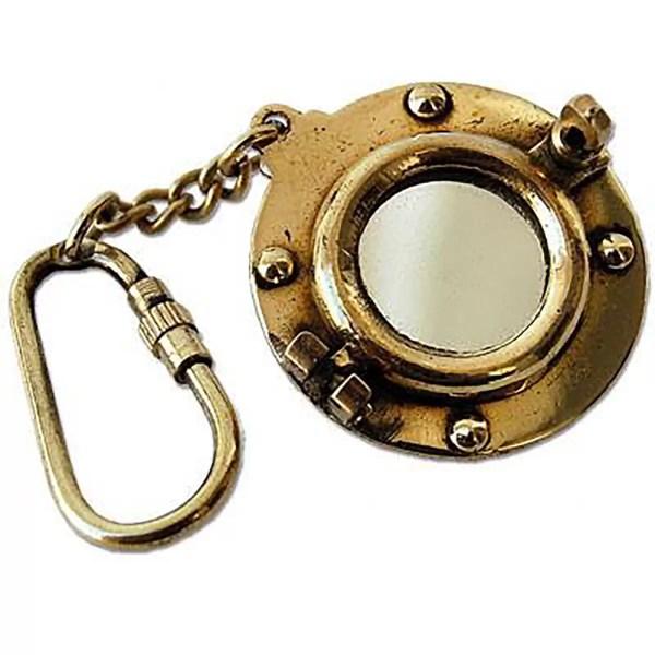 Kulcstartó tükrös kabinablak Kulcstartó