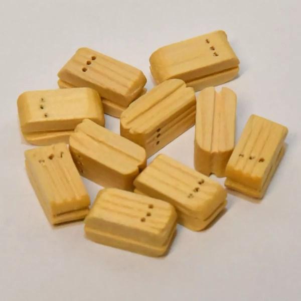 Csiga blokk három soros 5 mm 10 darab Kiegészítők