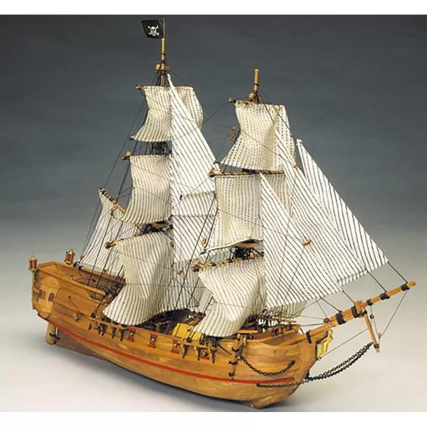 Black Falcon hajómakett építőkészlet Kalózhajó