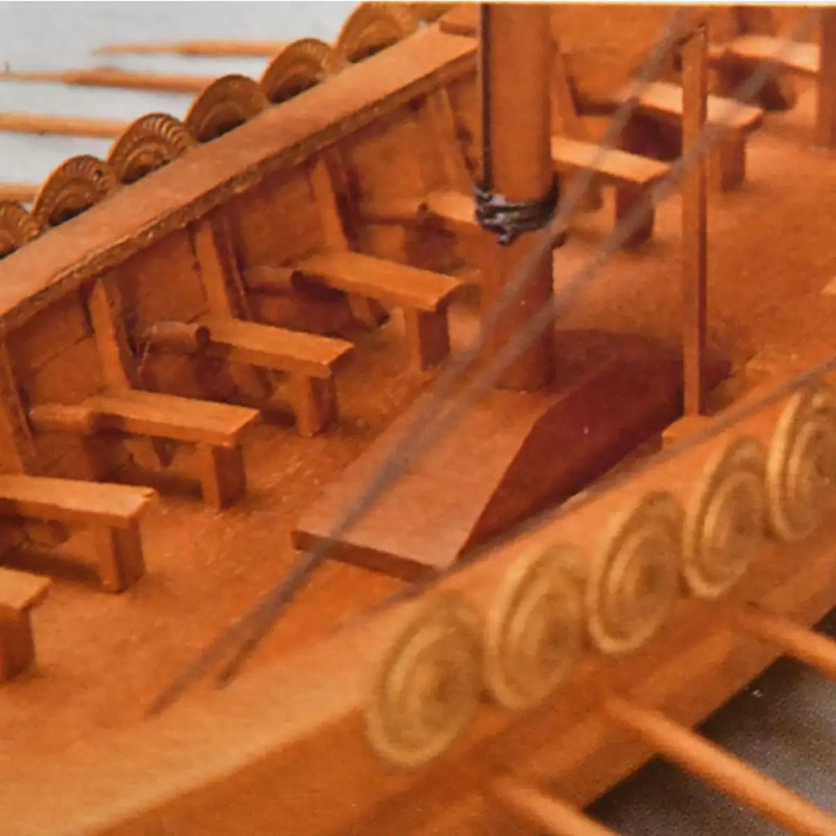 Viking hajó hajómakett építőkészlet Mantua