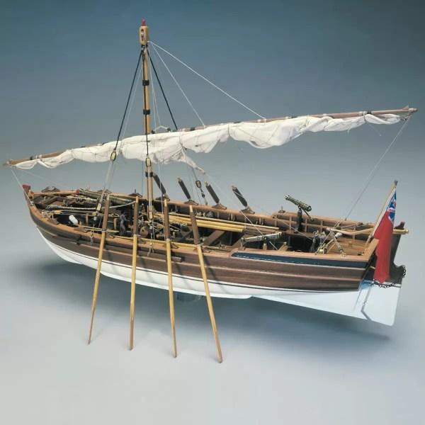 Lancia armata hajómakett építőkészlet Panart