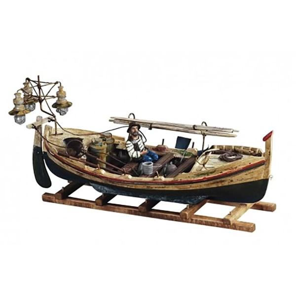 Halászcsónak makett Kishajó, Csónak