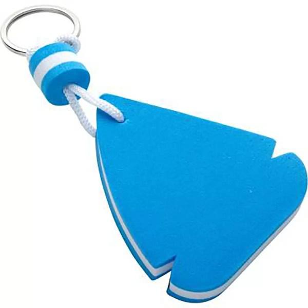 Úszó vitorlás kulcstartó Kulcstartó