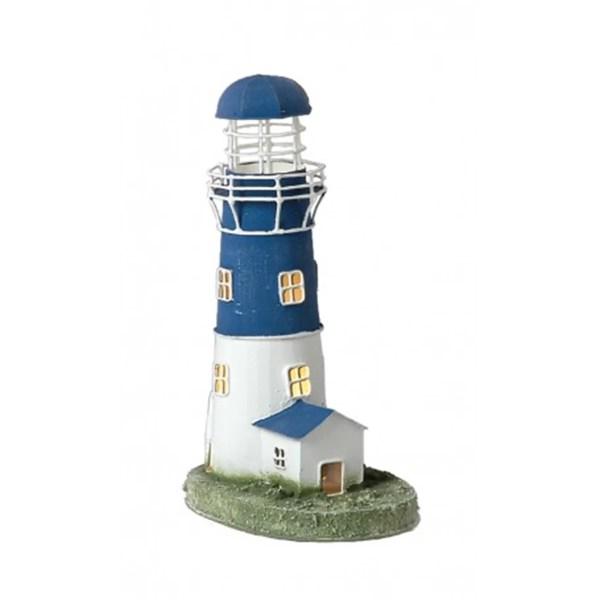 Fém mécsestartó világítótorony 22 cm Mécsestartó