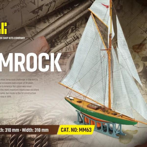 Shamrock hajómakett építőkészlet Kezdő és gyerek kitt