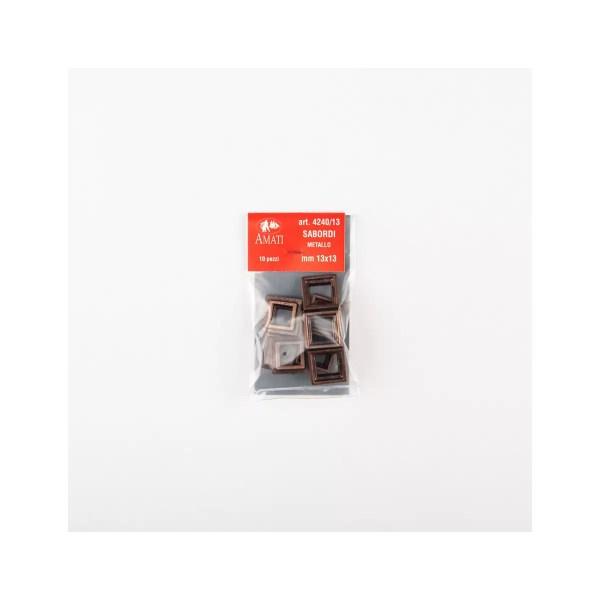 Ágyú ablak keret 13mm 10 darab Kiegészítők