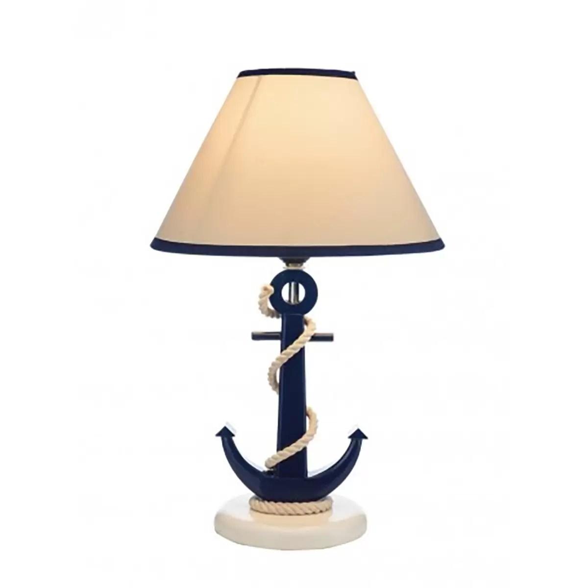 Horgonyos éjjeli lámpa 39 cm Lámpa