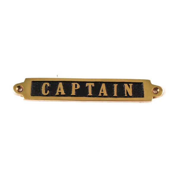 Captain kistábla 14 cm Cégér, tábla
