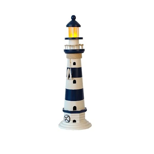 Világítótorony lámpa elemes Világítótorony