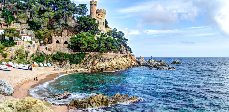 Sailing Area Spanish Mediterranean Coast From The Costa