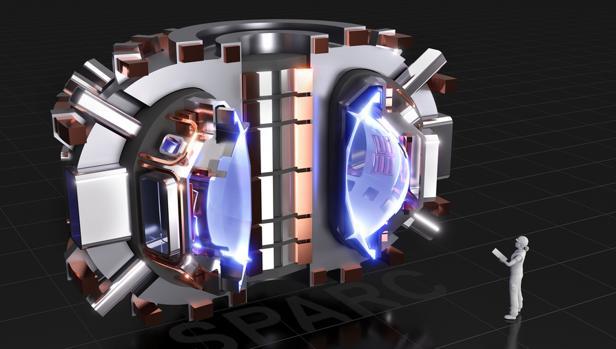 La ilustración muestra cómo será el nuevo reactor de fusión SPARC