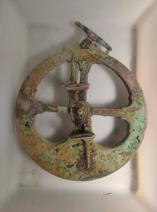 El astrolabio gallego está datado entre 1575 y 1622
