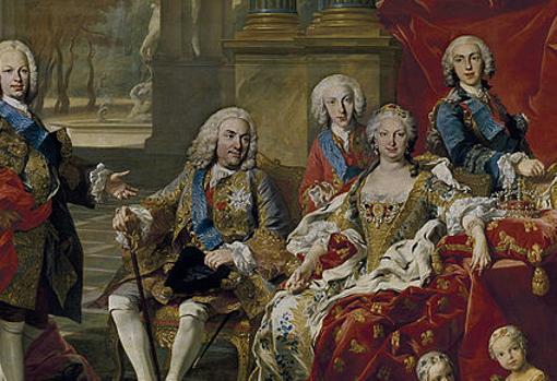 Isabel de Farnesio y Felipe V