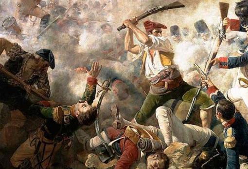 Representación de la Guerra de la Independencia