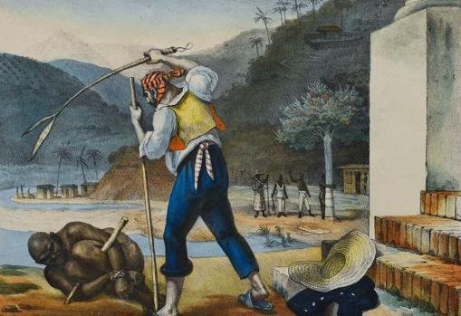 La esclavitud en Brasil, de Jean-Baptiste Debret.