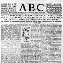 ABC, el 4 de septiembre de 1945