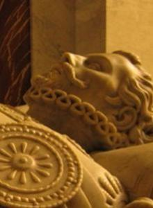 Mausoleum of Don Juan de Austria, designed by Ponciano Ponzano.