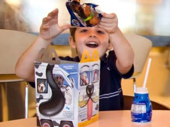 McDonald's is the world's largest distributor of toys, with one included in 20% of all sales