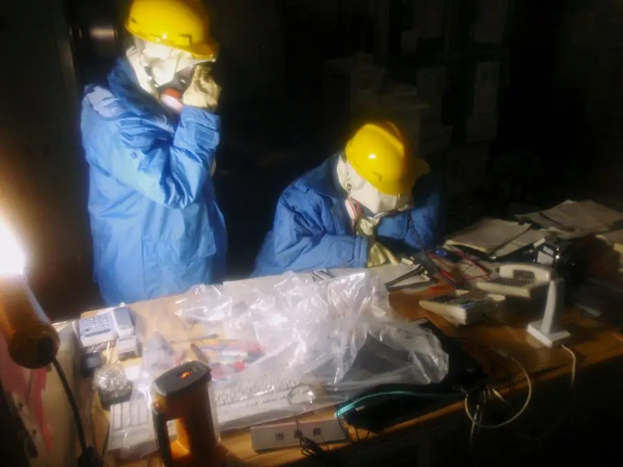 The Fukushima 50 were the first group of workers who remained on site when the plant was burning on March 15