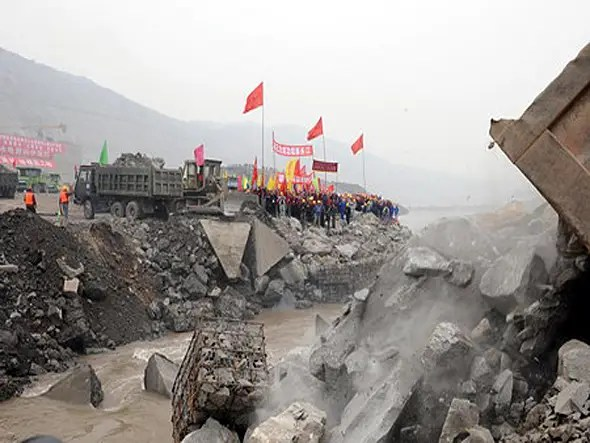 $6.3 BILLION: The Xiangjiaba Hydro power Project is expected to be completed by 2015 and generate 31 billion kwh annually
