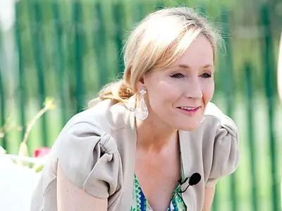 J.K. Rowling, author