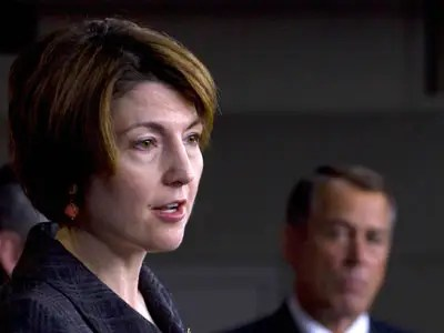 Cathy McMorris Rodgers, Washington Rep. (2 percent)