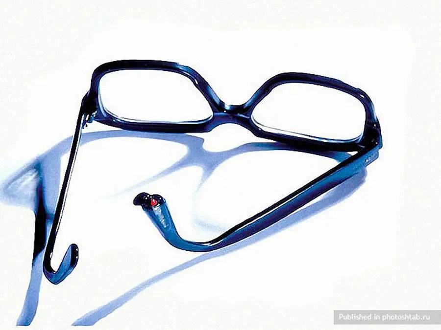 These CIA issued glasses could contain poison in the arms.