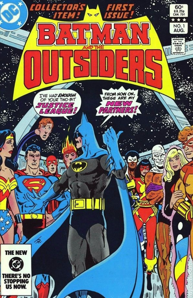 Batman and the Outsiders, DC Comics