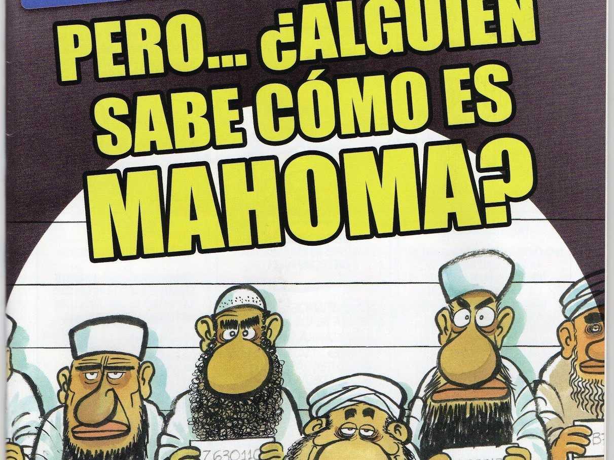 Spanish Magazine Publishes Controversial Muhammad Cartoon