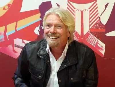 Richard Branson, founder of Virgin Group