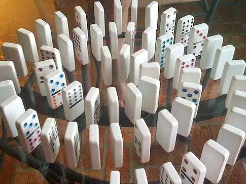 Image result for one major domino sets off the coming financial crash