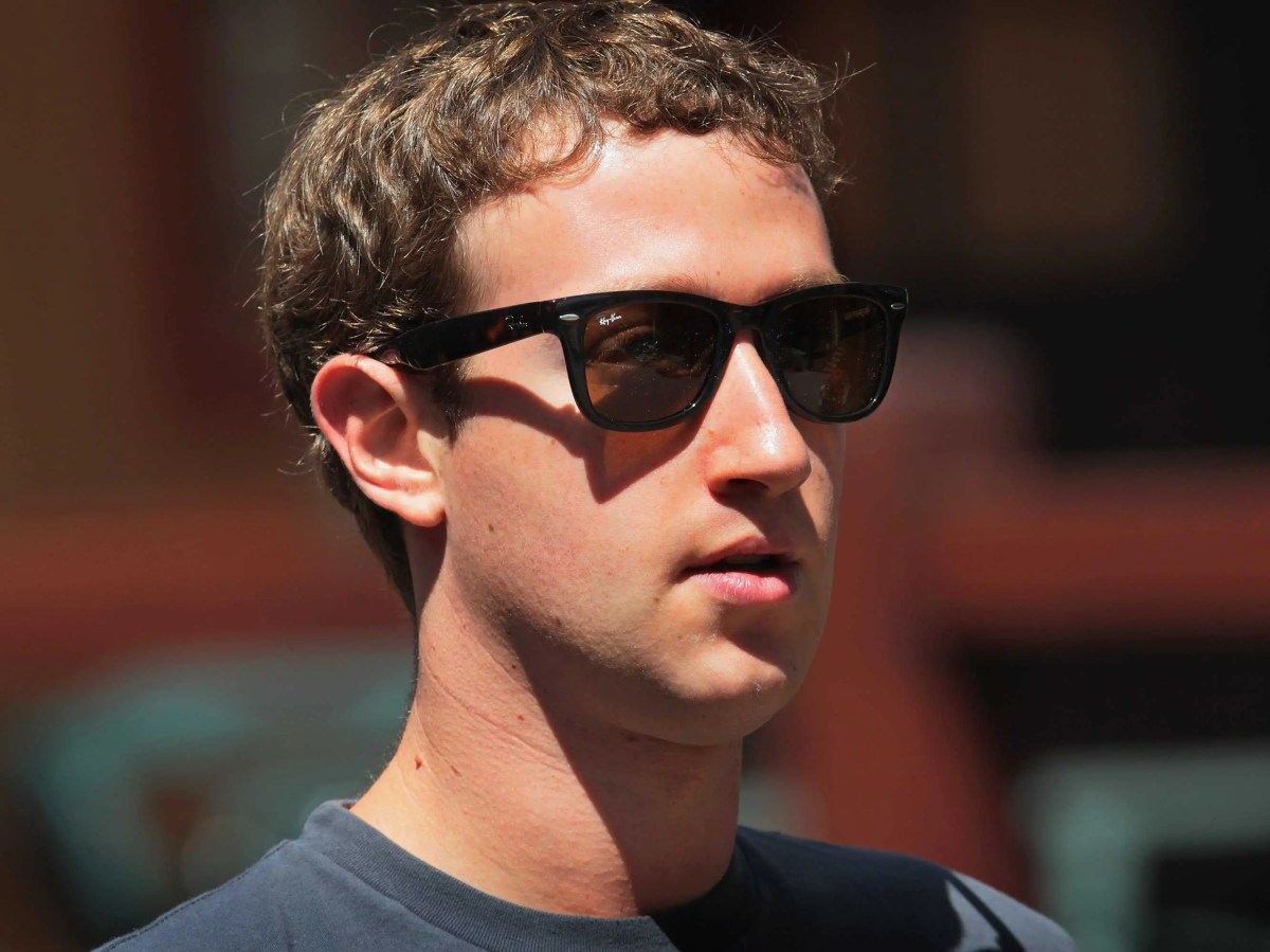 mark zuckerberg in sunglasses