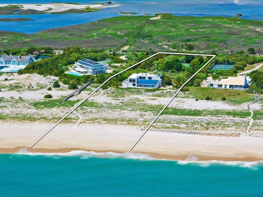 Thinking of joining the high rollers of Meadow Lane? This stunning beachfront property on 5 acres is available for $29.5 million.