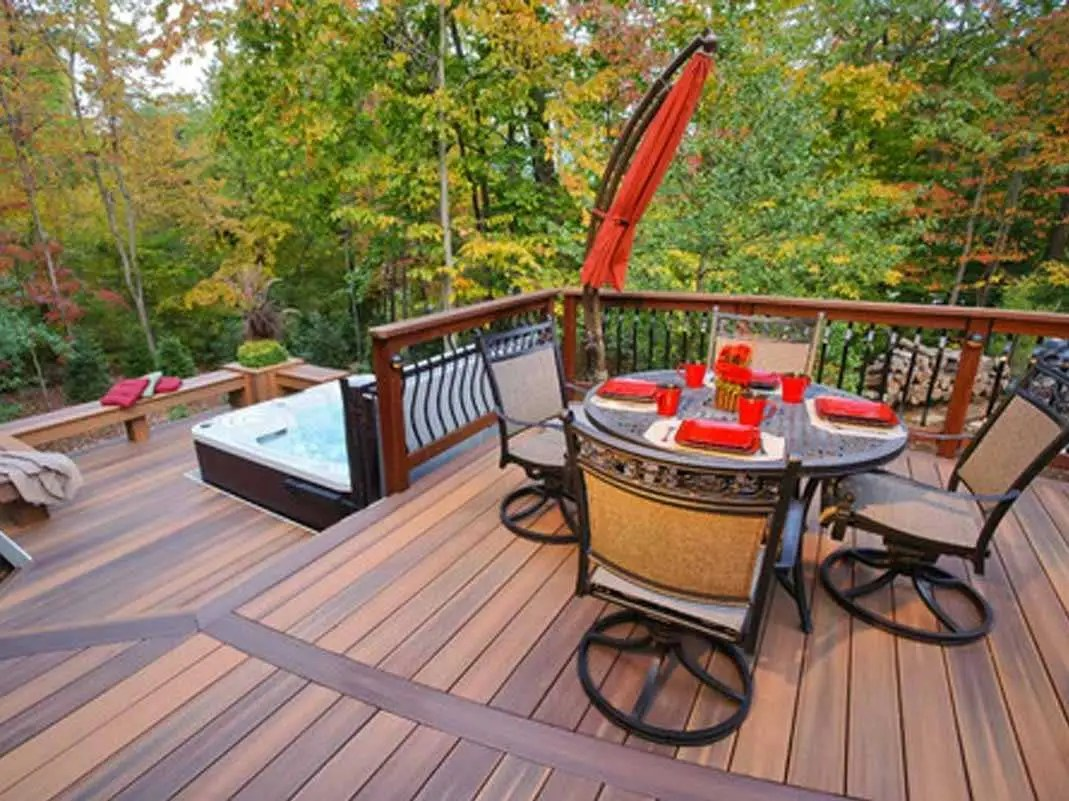 traditional deck
