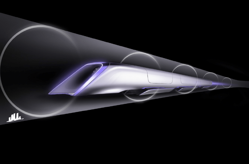 And then there's the Hyperloop, Elon Musk's idea for rapid transit (about 30 minutes) between Los Angeles and San Francisco.