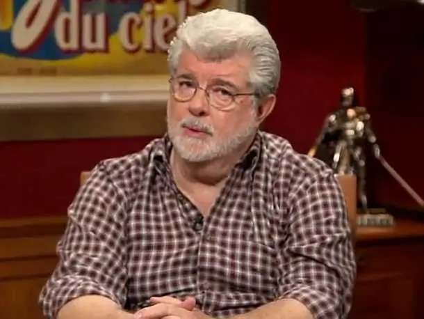 Director and producer George Lucas