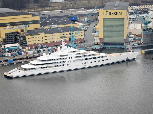 AZZAM is longer than most cruise ships