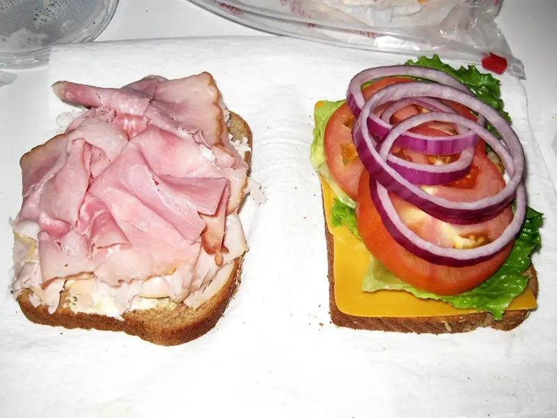 sandwich turkey
