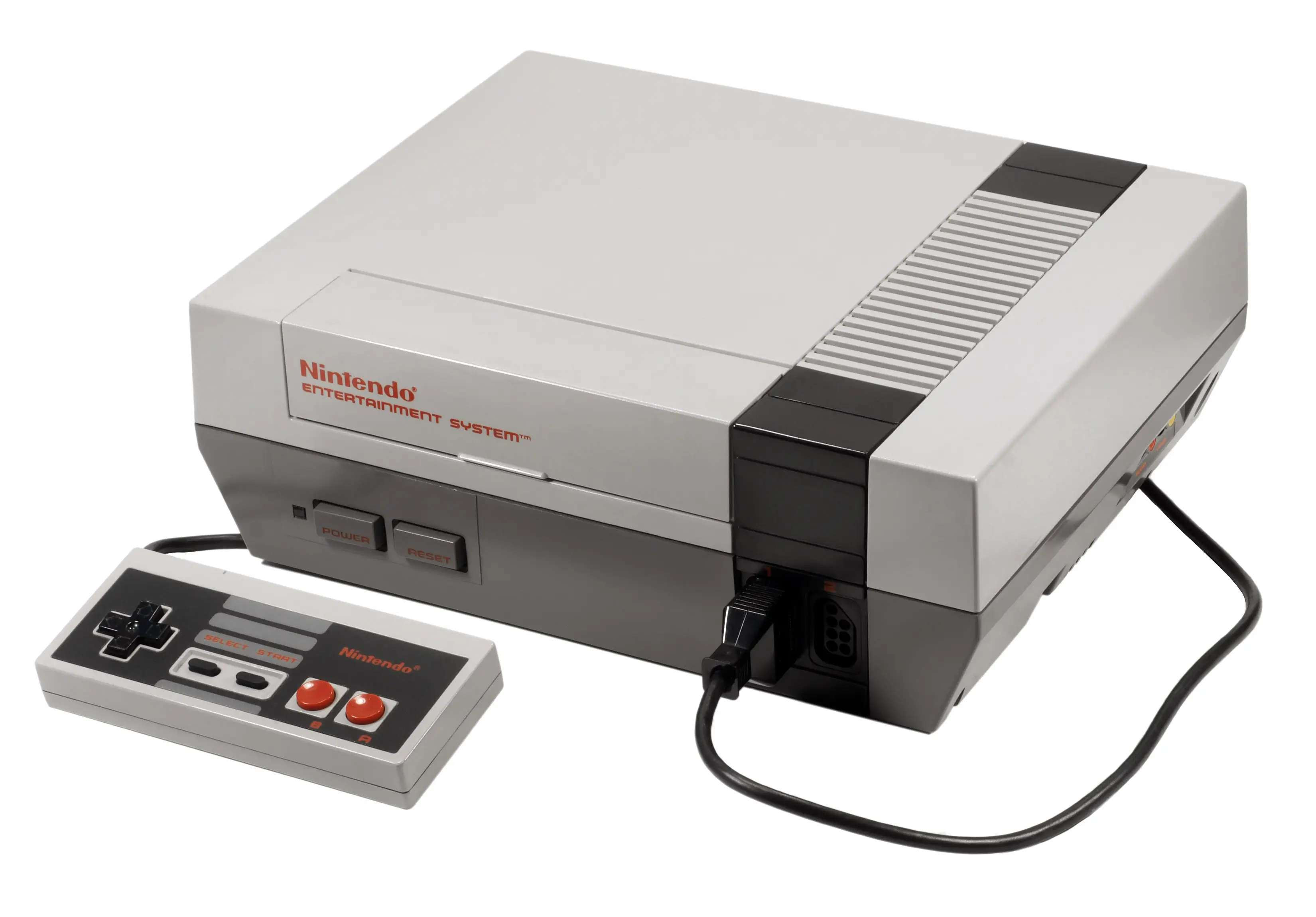 The Nintendo NES came bundled with Super Mario Brothers so ... enough said?