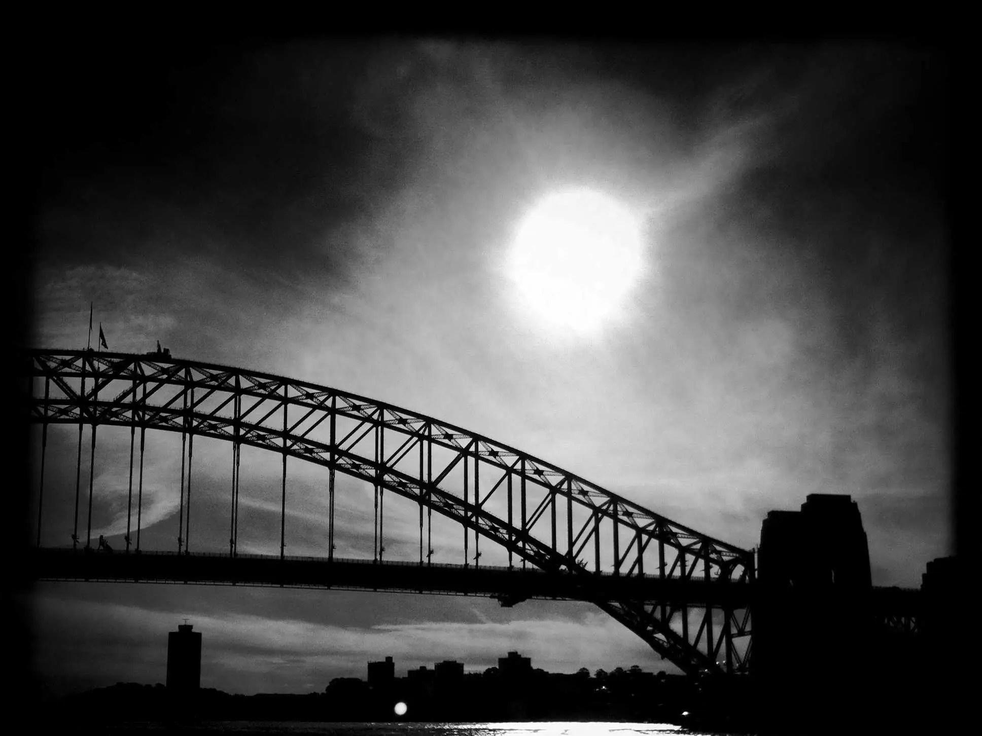 Albion Harrison Naishs Black And White Sydney iPhone