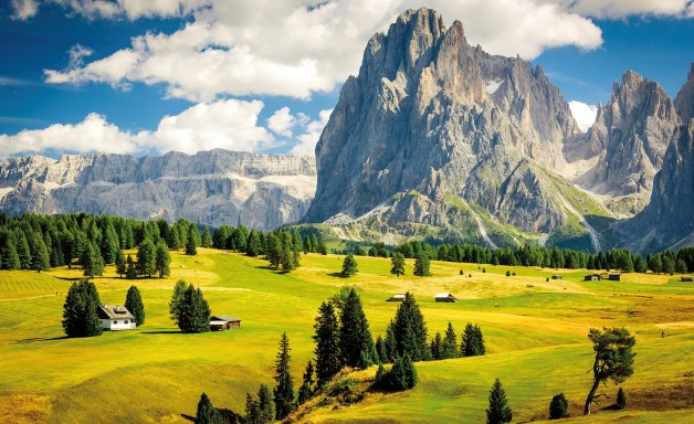 The Dolomites in Italy are among the world's most distinctive mountainscapes.