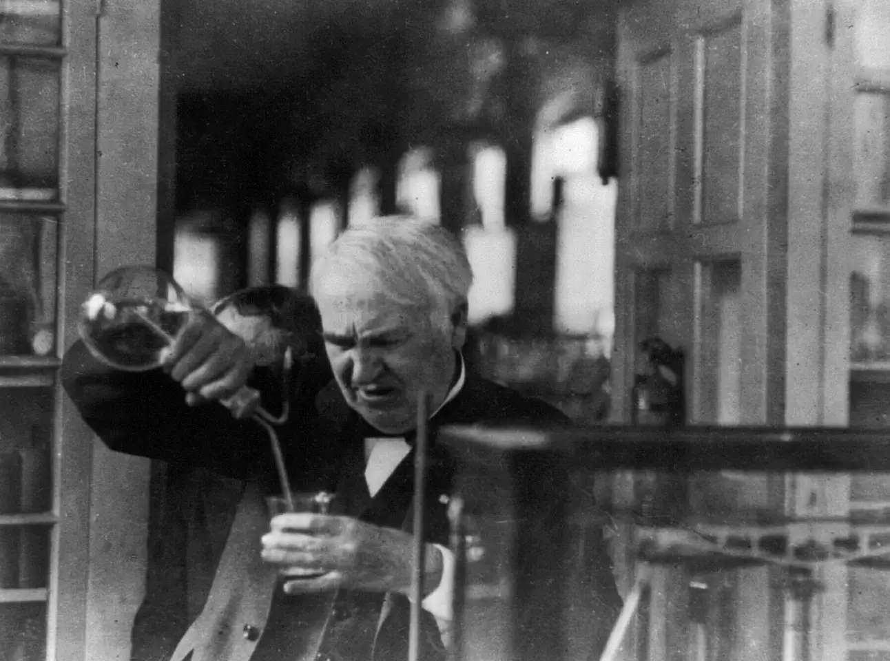 Thomas Edison refused to sleep when he was on a roll.