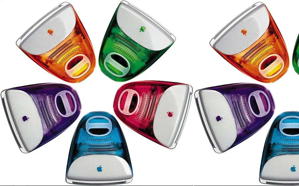When Apple released the iMac G3 in 1998, we went wild for the all-in-one, rainbow array.