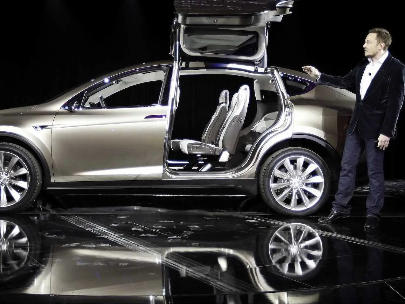 tesla we will probably reveal our mass market car at the 2015 detroit auto show tsla. Black Bedroom Furniture Sets. Home Design Ideas