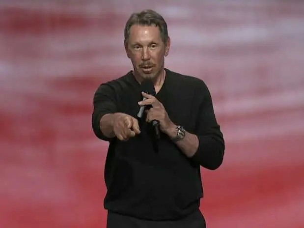 Oracle's Larry Ellison dropped out of college after his adoptive mother died and held odd jobs for eight years.