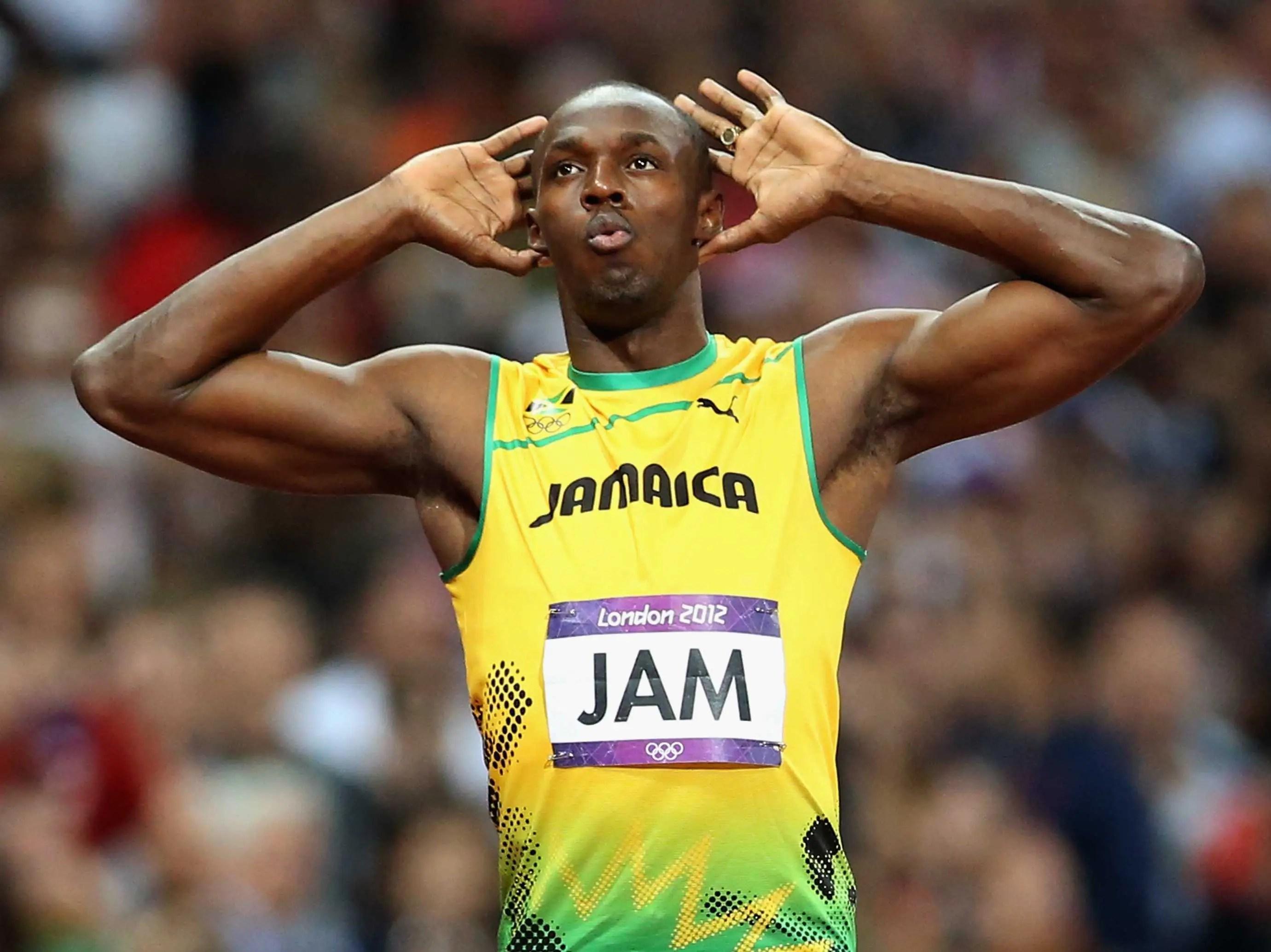 #12 Usain Bolt