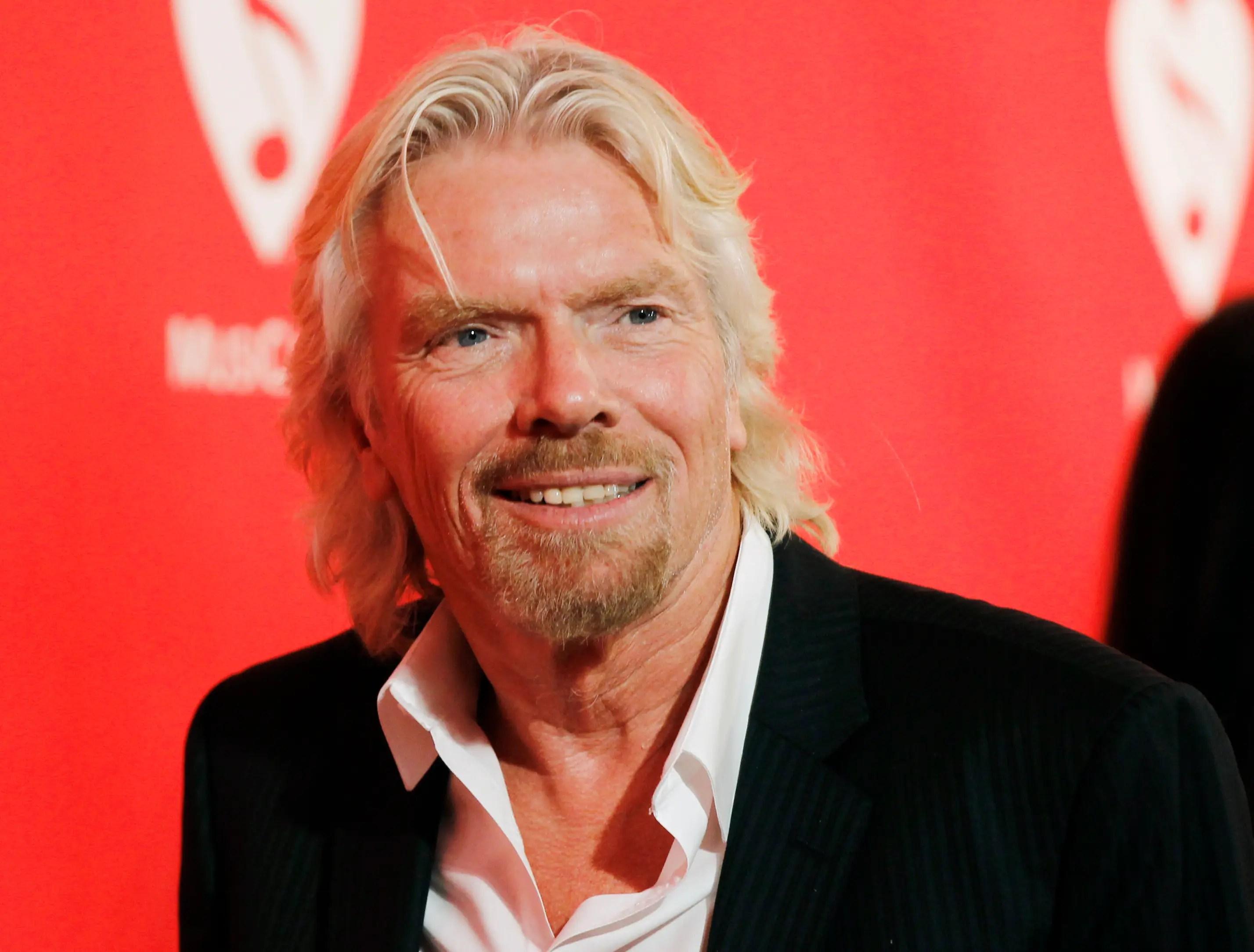 Billionaire Richard Branson believes success is about engagement.