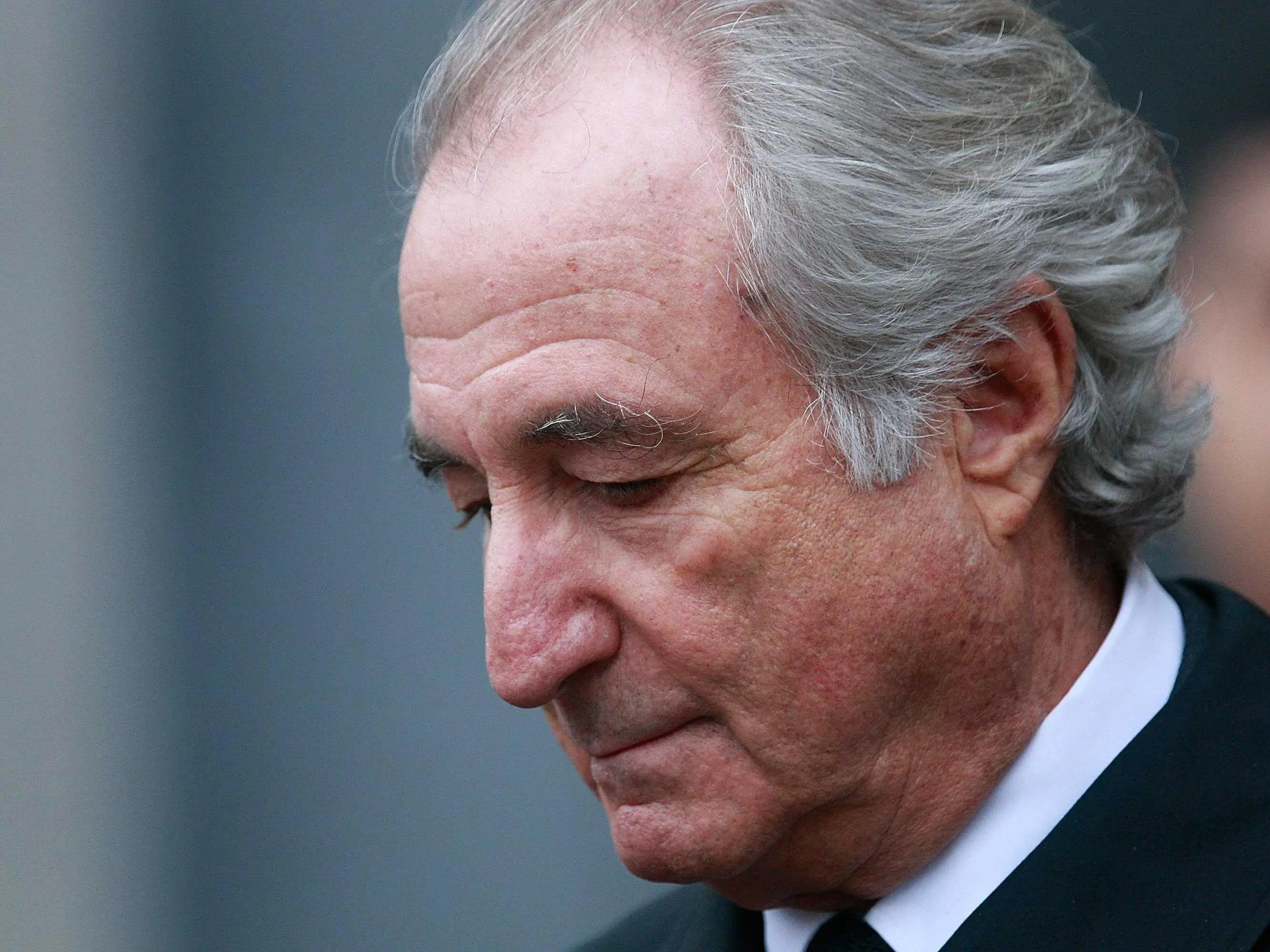 Image result for Bernie Madoff
